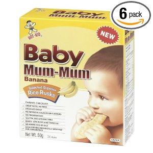 Baby Mum-Mum Snacks